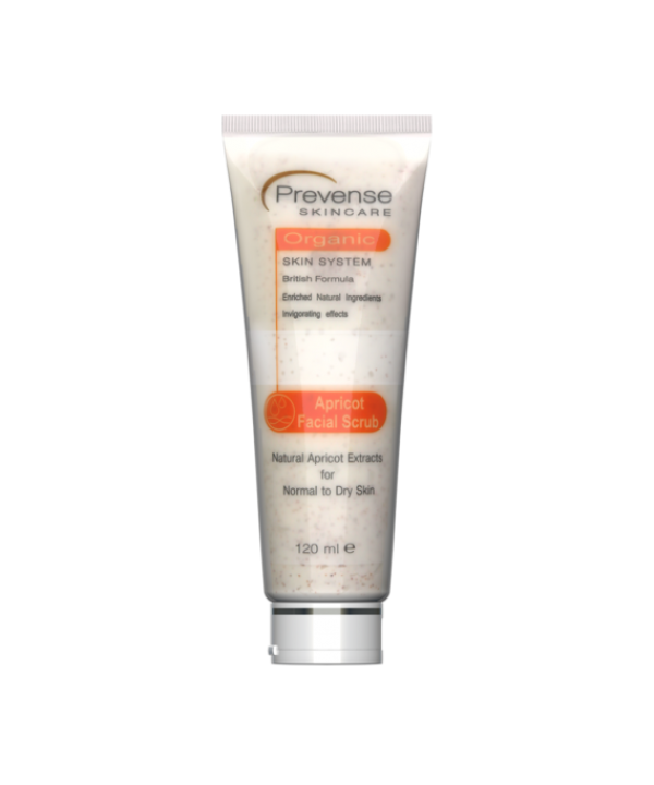 Prevense Apricot Facial Scrub For Normal To Dry Sk...