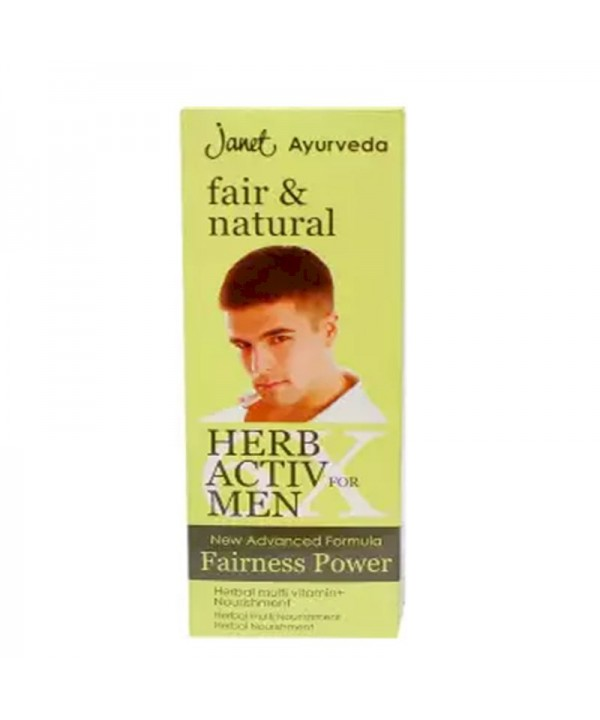 Janet Fair & Natural Herb Active For Men 25 ml