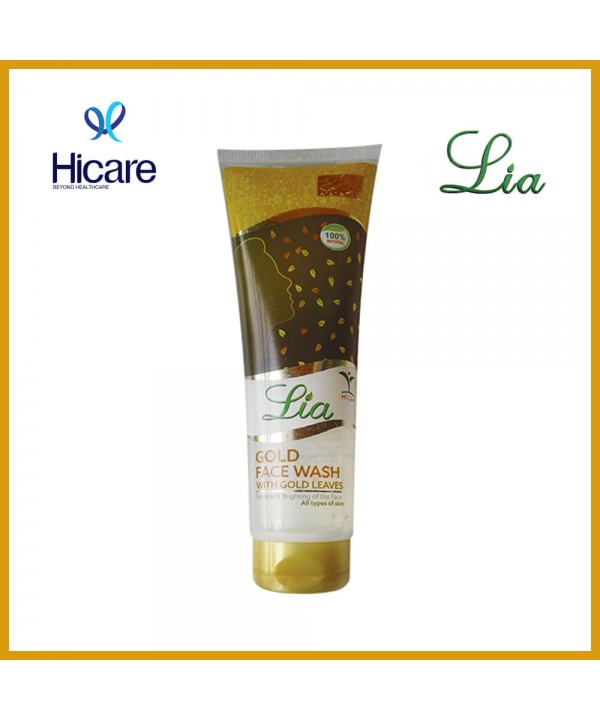 Lia gold face wash 100 ml