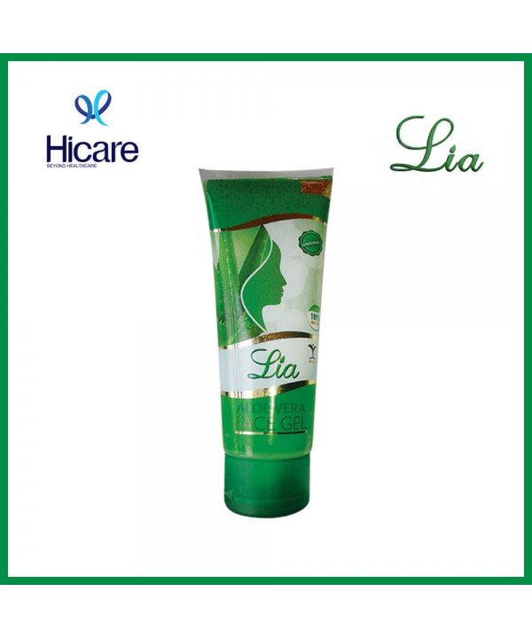 Lia aloe vera face gel 100 ml