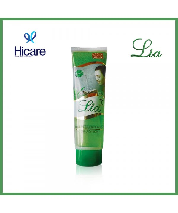 Lia aloe vera face wash 100 ml