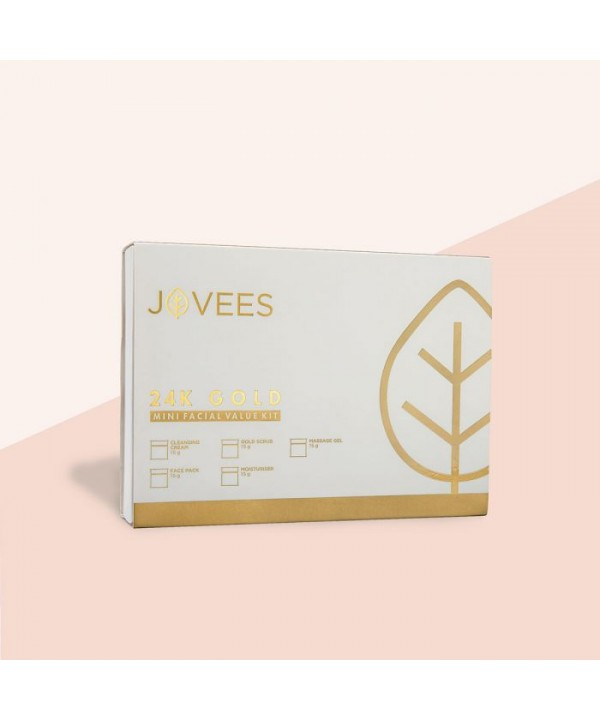Jovees 24 k Gold Mini Facial Value Kit