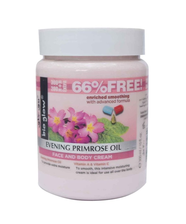 Bioglow Evening Primrose Oil Face & Body Cream...