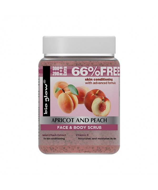 Bioglow Face & Body Scrub Apricot And Peach 50...