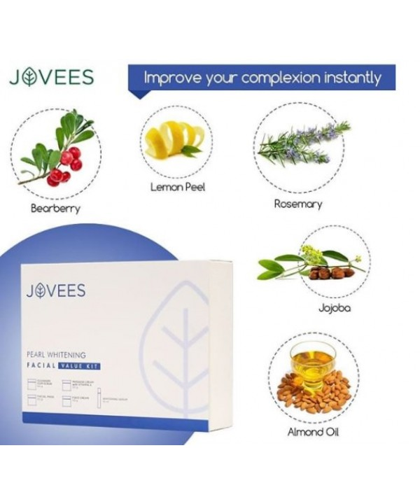 Jovees Pearl Whitening Facial Value Kit