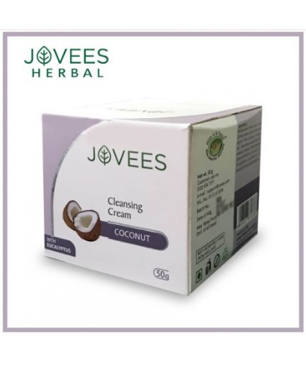 Jovees Cleansing cream coconut 50g