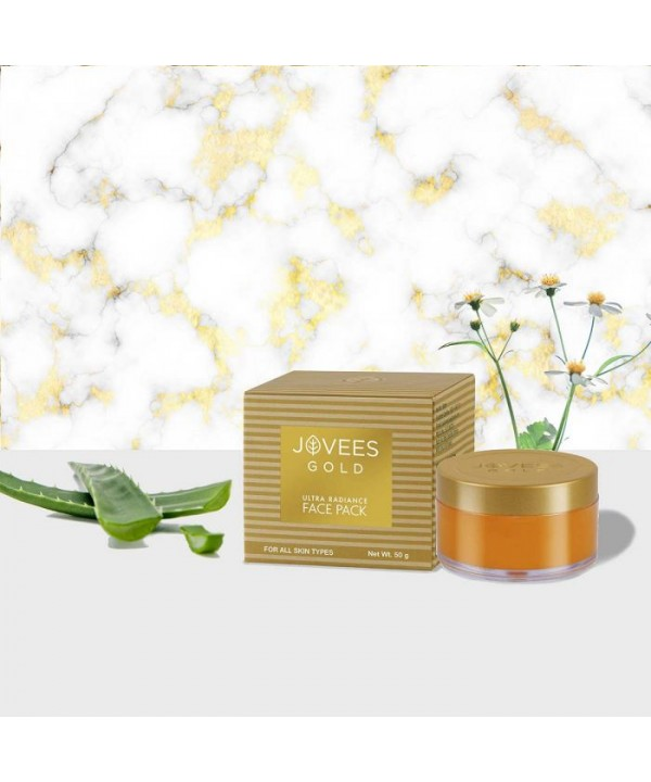 Jovees Herbal 24k Gold Ultra Radiance Face Pack 50g