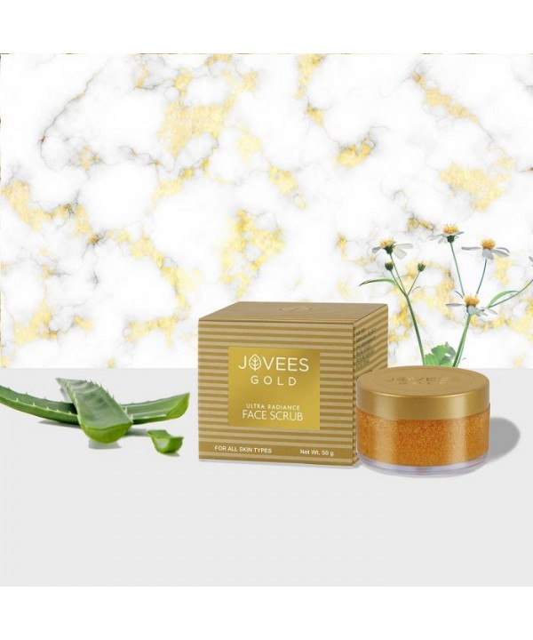Jovees Herbal 24k Gold Ultra Radiance Face Scrub 5...