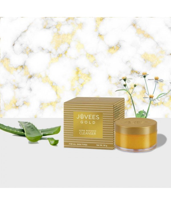 Jovees Herbal 24k Gold Ultra Radiance Cleanser 50g
