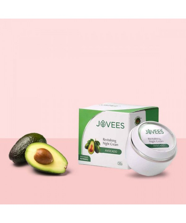 Jovees Herbal Avocado Night Cream 50g