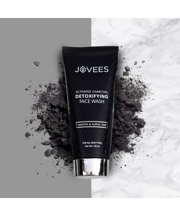 Jovees Herbal Activated Charcoal Detoxifying Face ...