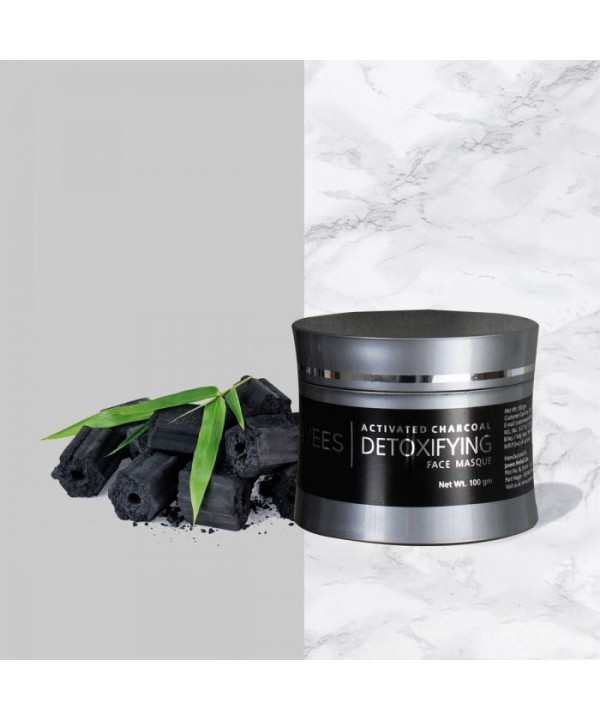 Jovees Herbal Detoxifying Charcoal Face Masque 100...