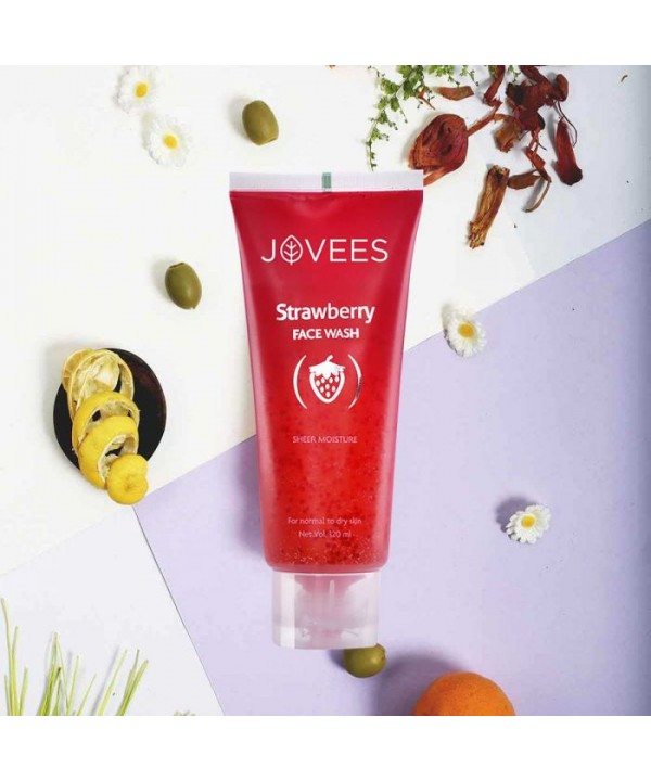 Jovees Herbal Strawberry Face Wash 120ml