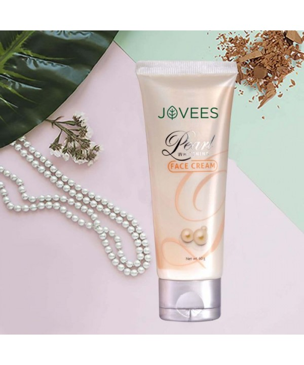 Jovees Herbal Pearl Whitening Face Cream 60g