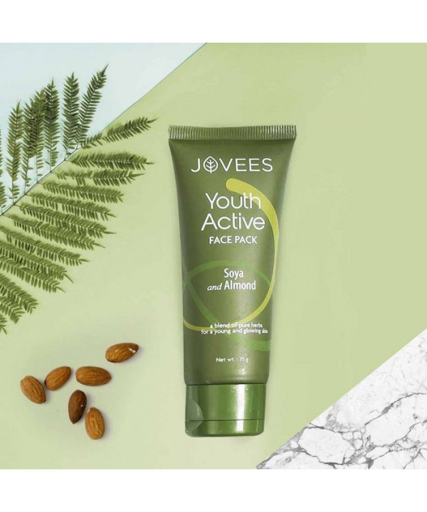 Jovees Herbal Youth Active Face Pack 75g
