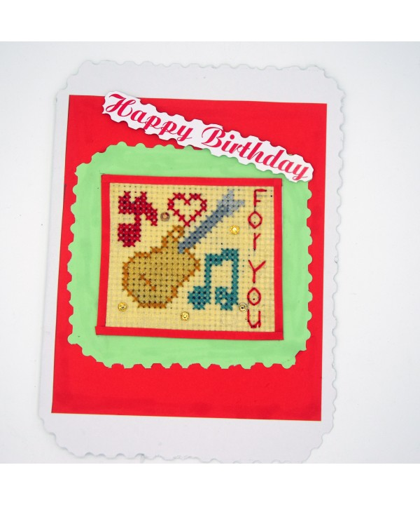 3-18 hand made birthday greeting card