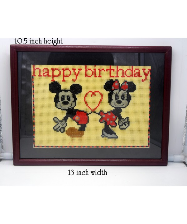3-3 birthday wishes hand made wall decoration